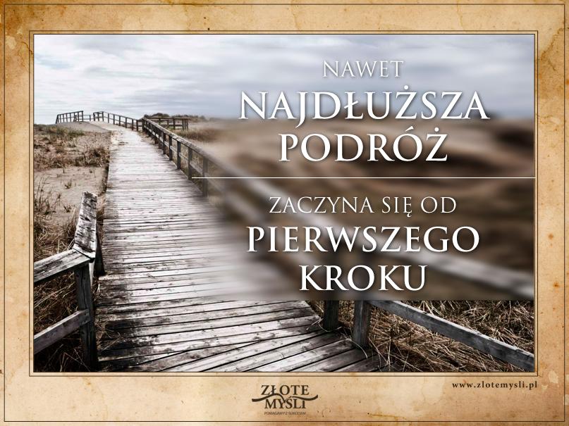 Plakat motywacyjny_pierwszy_krok